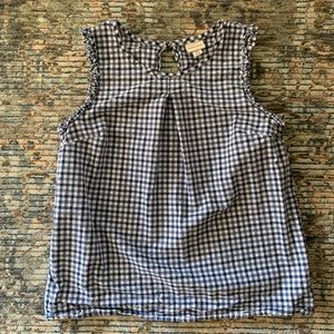 Merona Gingham Blouse